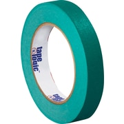 "Tape Logic® Masking Tape, 3/4"" x 60 yds., Dark Green, 48/Case"
