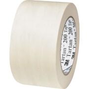 "3M™ #200 Masking Tape, 3"" x 60 yds., 12/Case"