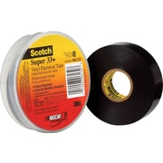"Scotch® #33+ Premium Grade Electrical Tape, 3/4"" x 66', 100/Case"