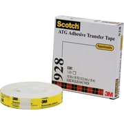 "3M 928 Repositionable Adhesive Transfer Tape, 3/4"" x 18 yds., 6/Pack"
