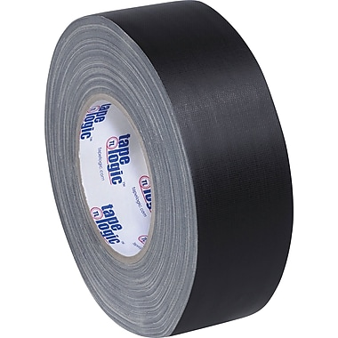 Staples Industrial Gaffers Tape, Black, 2in. x 60 yds., 3/Pack