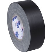 "Staples® Industrial Gaffers Tape, Black, 2"" x 60 yds., 3/Pack"
