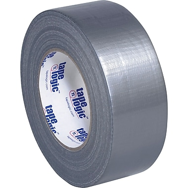 Staples® Cloth Utility Duct Tape, Silver, Utility Grade, 2