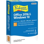 Professor Teaches Office 2016 & Windows 10 (1 User) [Boxed]