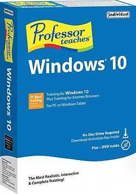 Professor Teaches Windows 10 1 User [Boxed]