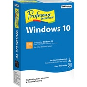 Professor Teaches Windows 10 (1 User) [Boxed]