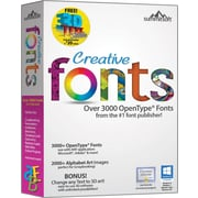 Creative Fonts (1 User) [Boxed]