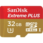 Sandisk 32GB Extreme PLUS microSDHC™ UHS-I Card with adapter