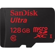 Sandisk 128GB Ultra® microSDXC UHS-I card with adapter