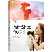 Corel PaintShop Pro X8 for Windows (1 User) [Boxed]