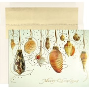 Great Papers® Shell Baubles Holiday Greeting Card 18 Cards / 18 Envelopes