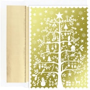 Great Papers® Tree Of Holiday Delights Holiday Greeting Card 18 Cards / 18 Envelopes