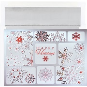 Great Papers® Snowflake Collage Holiday Greeting Card 16 Cards / 16  Envelopes