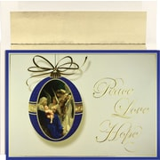 Great Papers® Angels Adoring Holiday Greeting Card 18 Cards / 18 Envelopes
