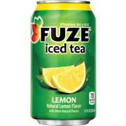 Fuze® Lemon Iced Tea, 12 oz. Cans, 24/Pack