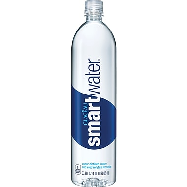 Glaceau Smartwater®, 1 Liter, 12/Pack