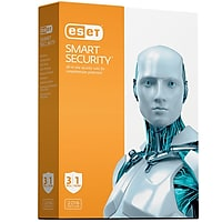 ESET Smart Security 2016 Software for 3 PCs + Malwarebytes 3.0 1 PC / 1 Year