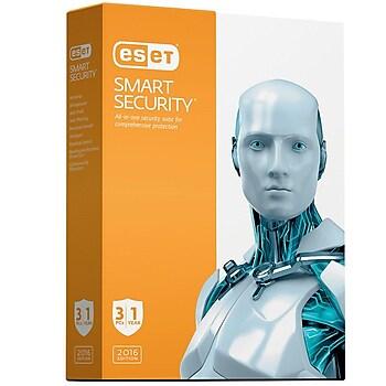 ESET Smart Security 2016 Software for 3 PCs