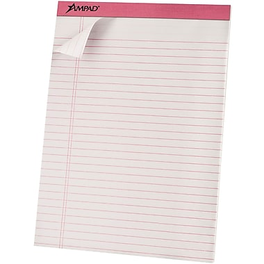 Ampad® Pink Ribbon Writing Pads