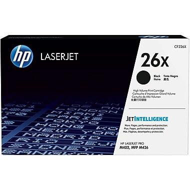 HP 26X (CF226X) Cartouche de toner HP LaserJet noir à rendement élevé d'origine