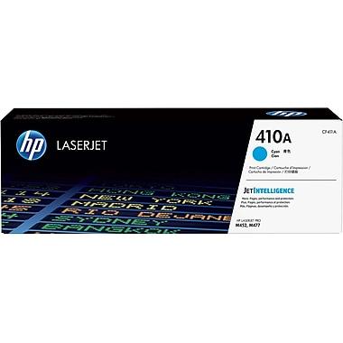 HP 410A (CF411A) Cartouche de toner HP LaserJet cyan d'origine