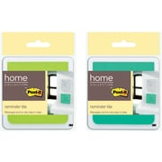 """Post-it® Reminder Tile with Super Sticky Full Adhesive Notes, 3"""" x 3"""", 1 Tile/Pack"""