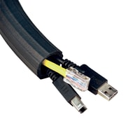 12' FLEXI CABLE WRAP, BLACK