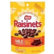 Nestlé® Raisinets® Milk Chocolate Covered Raisins, 11 oz. 6/BD