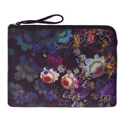 "Cynthia Rowley 15"" Laptop Case, Cosmic Black Floral, Neoprene (28778)"