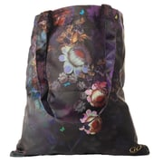 Cynthia Rowley Foldaway Tote Bag, Cosmic Black Floral, Canvas (28784)