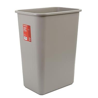 Brighton Professional 10 Gallon Plastic Wastebasket, Beige (22180/19213)