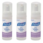 Purell® Alcohol-Free Foaming Hand Sanitizer, 45 mL Pump Bottle, 3/Pack