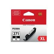 Canon CLI-271XL Black Ink Cartridge, (0336C001), High Yield