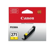 Canon CLI-271 Yellow Ink Cartridge, (0393C001)