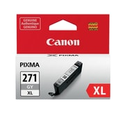 Canon CLI-271XL Gray Ink Cartridge, (0340C001), High Yield
