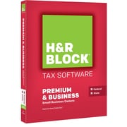 H&R Block 15 Premium & Business for Windows (1 User) [Boxed]