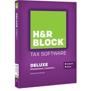 H&R Block 15 Deluxe + State for Windows/Mac (1 User) [Boxed]