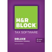 H&R Block 15 Deluxe + State for Windows (1 User) [Download]