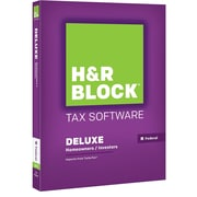 H&R Block 15 Deluxe for Windows/Mac (1 User) [Boxed]
