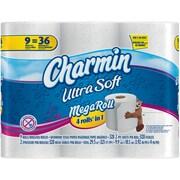 Charmin® Ultra Soft Toilet Paper, 2-Ply, 9 Mega Rolls (80251790)