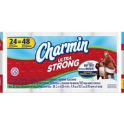 Charmin® Ultra Strong Toilet Paper, 2-Ply, 24 Double Rolls/Pack (80252475)