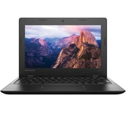 "Lenovo Ideapad 100s 11.6"" Chromebook, HD Display, Intel Celeron N2840, 16GB eMMC, 2GB RAM, Chrome, Black"