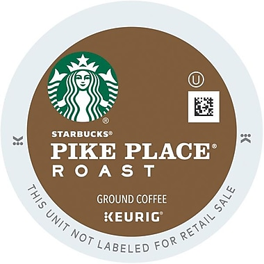 Keurig® K-Cup® Starbucks® Pike Place® Roast Coffee, Regular, 24/Pack