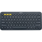 Logitech K380 Wireless Bluetooth Compact Multi-Device Keyboard for Computers, Tablets and Smartphones, Dark Grey (920-007558)
