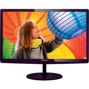 "Philips 247E6BDAD 24"" Class Full HD / Soft Blue/Anti-Blue Light LED-LCD Monitor with Stereo Speakers, VGA,DVI, MHL-HDMI"