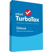 TurboTax Deluxe + State 2015 for Windows/Mac (1 User) [Boxed]