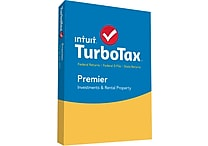 TurboTax Premier 2015 for Windows/Mac (1 User) [Boxed]