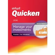 Quicken Premier 2016 for Windows (1 User) [Download]