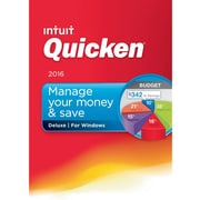 Quicken Deluxe 2016 for Windows (1 User) [Download]