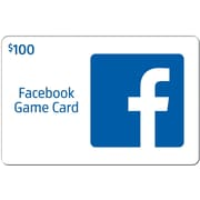 Facebook Gift Card $100 (Email Delivery)
